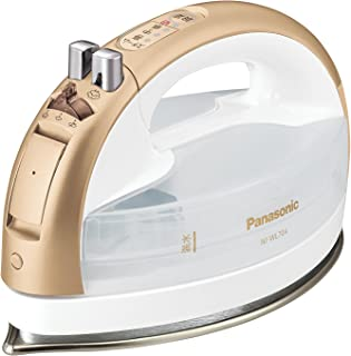 Panasonic Cordless Steam W head Iron NI-WL704-N (Gold)【Japan Domestic genuine products】