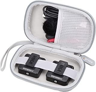 Aproca Hard Travel Storage Case for Rode Wireless Go Compact Wireless Microphone System Transmitter and Receiver