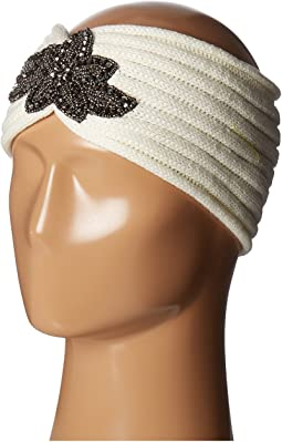 SCALA Knit Headband w/ Beads