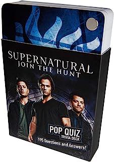Supernatural Pop Quiz Trivia Deck (Science Fiction Fantasy)