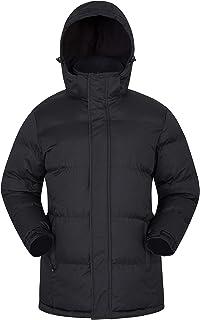 Chaqueta de Nieve para Hombre - Impermeable, con Capucha, puños y Dobladillo Ajustables - Ideal para Viajes en Invierno