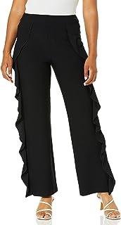 Lyssé womens Cascade Stretch Crepe Pant Dress Pants