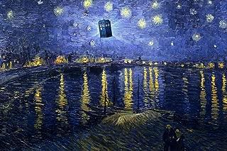 Tardis Starry Night Over The Rhone Van Gogh Art Humor Cool Huge Large Giant Poster Art 36x54