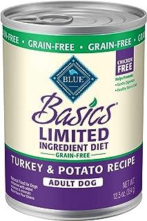 Blue Buffalo Basics Limited Ingredient Diet, Grain Free Natural Adult Wet Dog Food