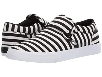 Supra Cuba (Black/White Stripe) Men