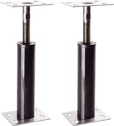 Akron Adjustable Floor Jack (Model C-4), Akron Jacks Floor Jacks, Telescoping Jack For Temporary Support, Size Range 1-1 3