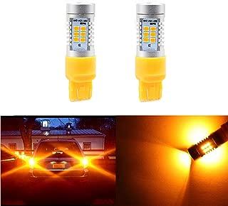 7440 7441 7443 7444 Amber Yellow Turn Signal LED Bulbs,Side Marker Lights