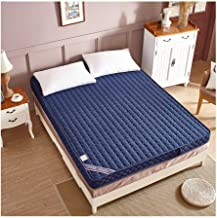 Tatami Bed Mattress, Student Dormitory Mattress Single Double Bed Memory Cotton Mattress Foldable Non-Slip Mattress Thickn...