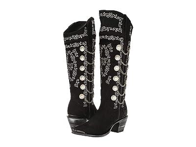 Dan Post Chain Reaction (Black) Cowboy Boots