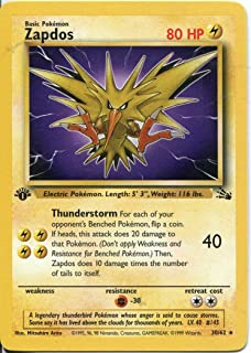 Best 1st edition zapdos Reviews