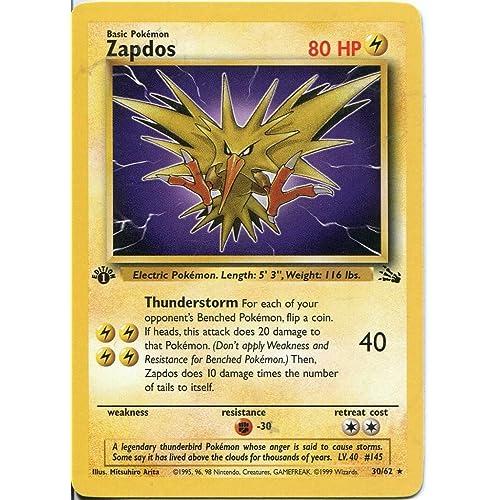 Pokemon First Edition Cards: Amazon com