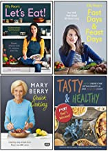 Elly Pear's Let's Eat [Hardcover], Elly Pear's Fast Days And Feast Days [Hardcover], Mary Berry's Quick Cooking [Hardcover], Tasty & Healthy 4 Books Collection Set