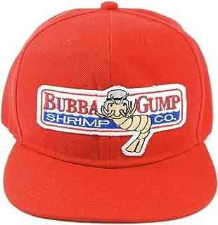 Hat Universe Forrest Gump Gorra Bordada Roja Bubba Shrimp Co Snapback