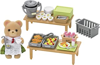 Calico Critters School Lunch Set, 3 inches