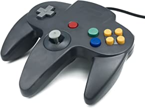 QUMOX NINTENDO 64 N64 GAMES CLASSIC GAMEPAD CONTROLLERS FOR USB TO PC/MAC BLACK