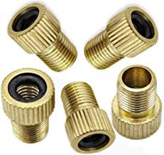 Presta To Brass Valve Adapter Converter Bicycle Tire Tube Pump F4A5 10