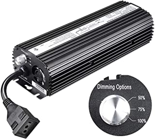 Dimming Electronic Grow Light Ballast for MH HPS 600 Watts The built-in fuse, cooling fan and graduating fin design resulting in 15% cooler operation US Delivery