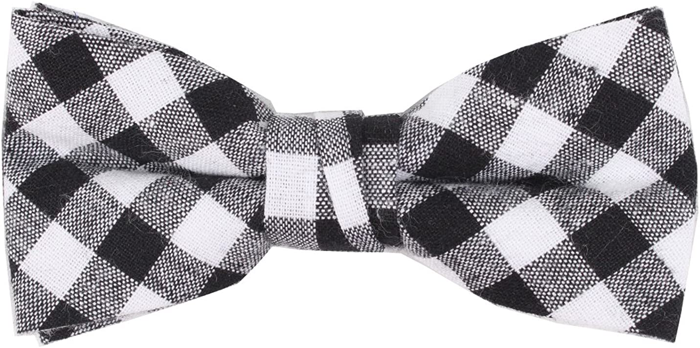Born to Love Boys Kids Pre Tied Bowtie Christmas Holiday Party Dress Up Bow Tie