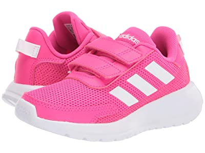 adidas Kids Tensaur Run (Little Kid) (Shock Pink/White/Shock Red) Girl