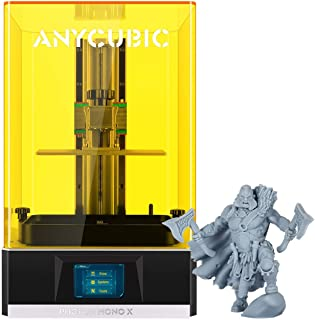 """ANYCUBIC Photon Mono X 3D Printer, UV LCD Resin Printer with 8.9"""" 4K Monochrome Screen, WiFi Control and Fast Printing, Pr..."""