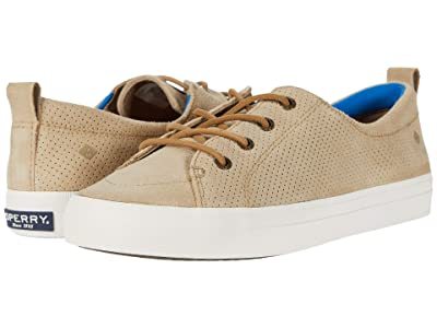 Sperry Crest Vibe PlushWave Pin Perf Leather (Cornstalk) Women
