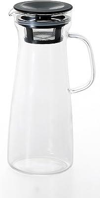 アデリア 耐熱取っ手付き冷蔵庫ポット ブラック900ml20734519