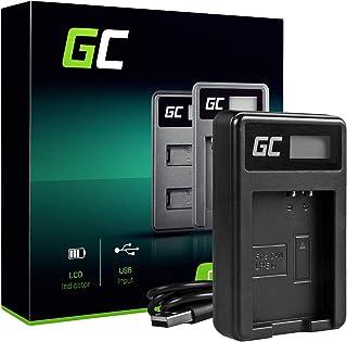Green Cell® LC-E10 Cargador para Canon LP-E10 Batería y EOS 1100D EOS 1200D EOS 1300D EOS Kiss X50 Kiss X50 Kiss X70 Rebel T3 Rebel T5 Rebel T6 Cámaras (5W 8.4V 0.6A Negro)