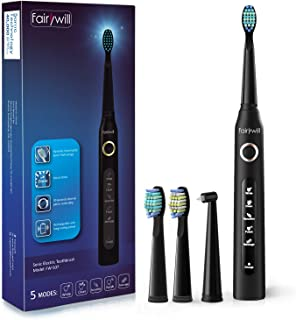 Electric Toothbrush Powerful Sonic Cleaning – ADA Accepted Toothbrush with Smart..
