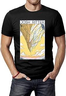 Men's Black Josh Ritter Art T-Shirt Tee Shirt