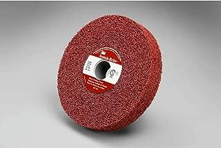 PRICE is per CASE 7500 Max RPM Thickness 1//8 in 24351 Arbor Attachment 3M Scotch-Brite CP-UW Unitized Aluminum Oxide Hard Deburring Wheel Coarse Grade 6 in Dia 5//8 in Center Hole