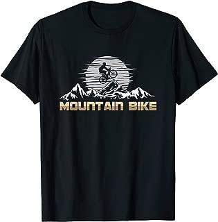 Awesome Vintage Mountain Bike MTB Cyclist T-Shirt