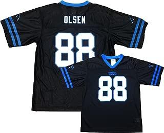 Greg Olsen Carolina Panthers Black Home Player Jersey Youth