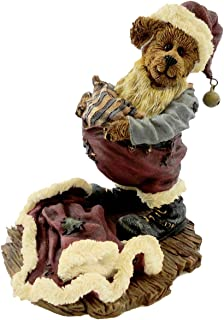 Boyds Bears Resin S Kringlebeary Santa Wannabe Christmas Bearstone - Resin 4.00 IN