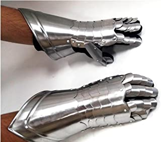gauntlet gloves metal