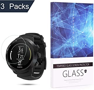 BECROWM Tempered Glass Screen Protector 9H Hardness Protective Glass Compatible with Suunto D5 Dive Computer,2.5D Full Cov...