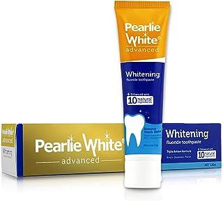 Pearlie White Advanced Whitening Enhanced Fluoride Toothpaste (4.6oz) 130g