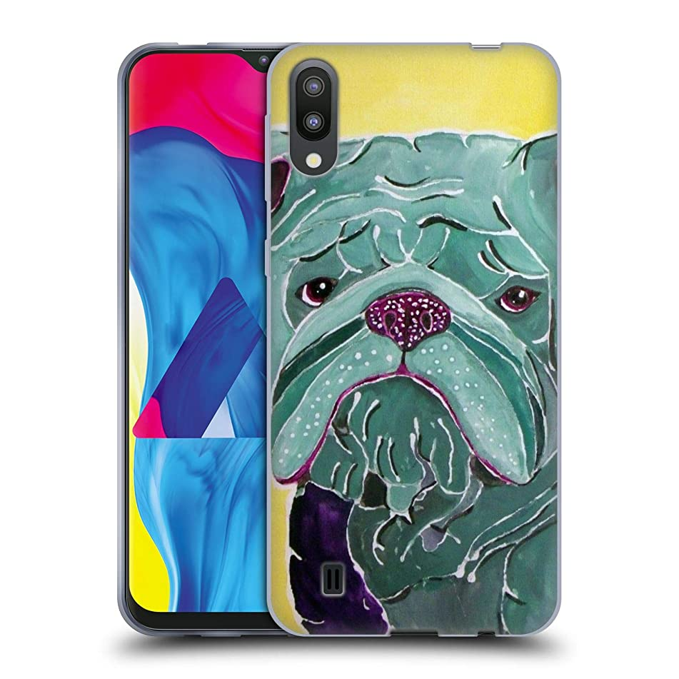 Official Lauren Moss Roscoe Dogs Soft Gel Case Compatible for Samsung Galaxy M10 (2019)
