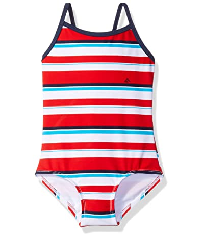 Kanu Surf Layla Beach Sport Banded One-Piece Swimsuit (Toddler)