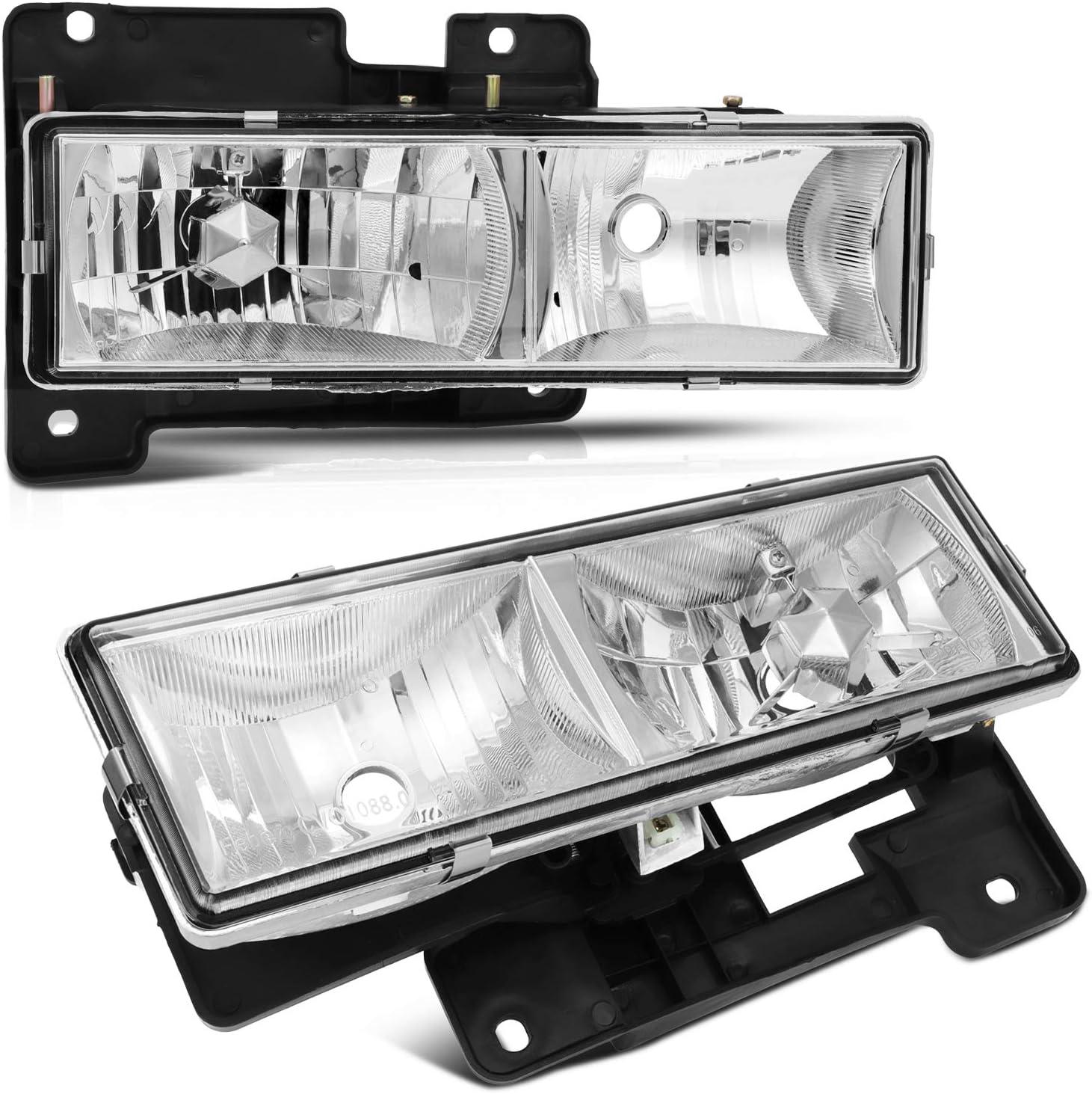 驚きの価格が実現 AINTIER Headlight Assembly Set Replacemen Chevy K C 1500 激安通販 3 2500