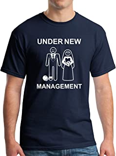 Under New Management T-Shirt - Funny Wedding Gift Bachelor Party Tee