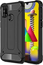 ValueActive Back Case Cover for Samsung Galaxy M31 Cover Case Rugged Armor TPU Shock Proof 360 Protection with Bumper Neo-Hybrid Dual Layer Back Cover Case for Samsung Galaxy M31 (M31, Black)