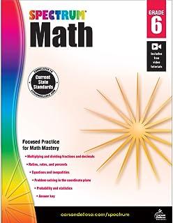 Spectrum   Math Workbook   Grade 6, Printable