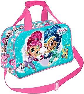 Mochila Infantil Rosa con Ruedas Shimmer /& Shine 1019HV-7427 Nickelodeon Deluxe