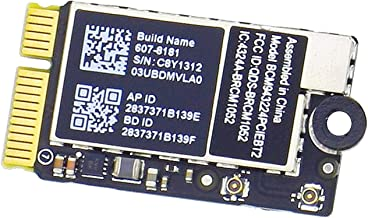 Willhom BCM943224PCIEBT2 WiFi Bluetooth Airport Wireless Network Card Replacement for MacBook Air 11