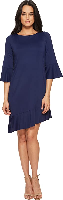 Cecelie Ruffle Edge Dress