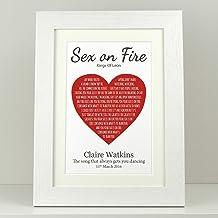 Valentine day gift VA018 wedding present Personalised First anniversary gift