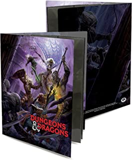 Officially Licensed Dungeons & Dragons Drow Attack Character Folio