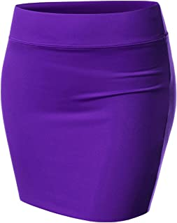 purple skirt outfit ideas