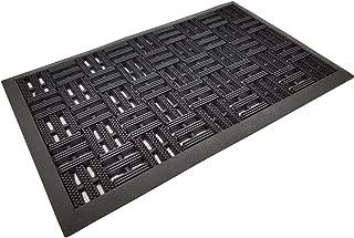 PROHEIM Fußmatte Matador 45x75 cm Outdoor Schmutzfangmatte Fußabstreifer Fußabtreter aus Gummi - langlebig und robust