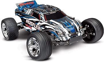 Traxxas 1/10 Scale Rustler 2WD Stadium Truck, Blue